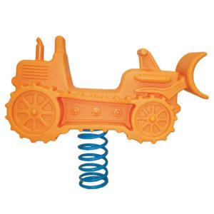 acquagioca giochi a molla rusp one trattore arancione eurotank