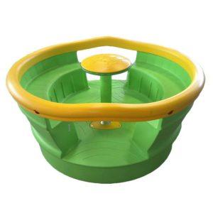 acquagioca giostre giramondo interamente in plastica giallo verde eurotank
