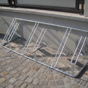 acquagioca posabiciclette a sei posti arredo urbano eurotank