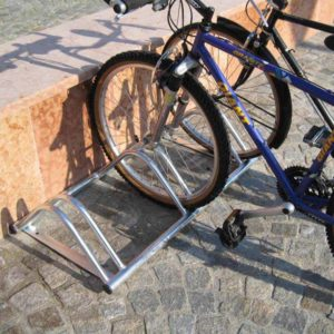 acquagioca posabiciclette a tre posti arredo urbano eurotank