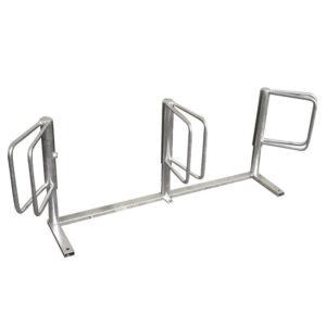 acquagioca posabiciclette a tre posti verticali eurotank